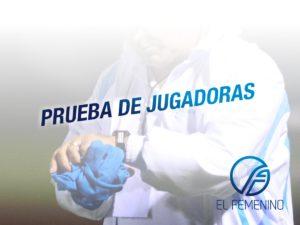 PRUEBA DE JUGADORAS