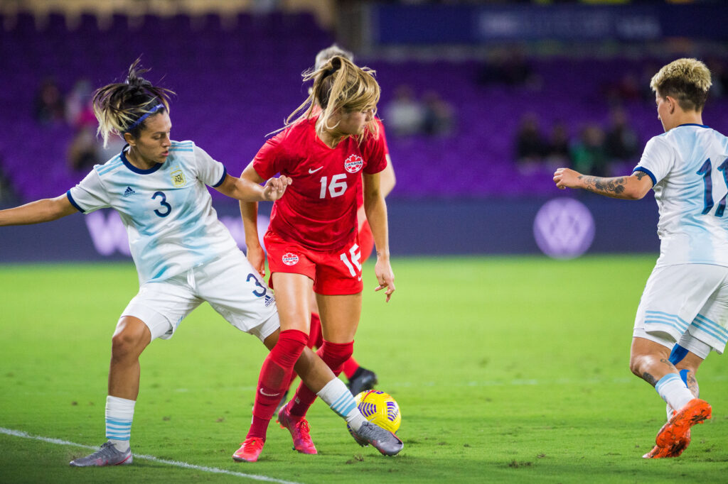 Argentina 0 - Canadá 1 - Copa SheBelieves