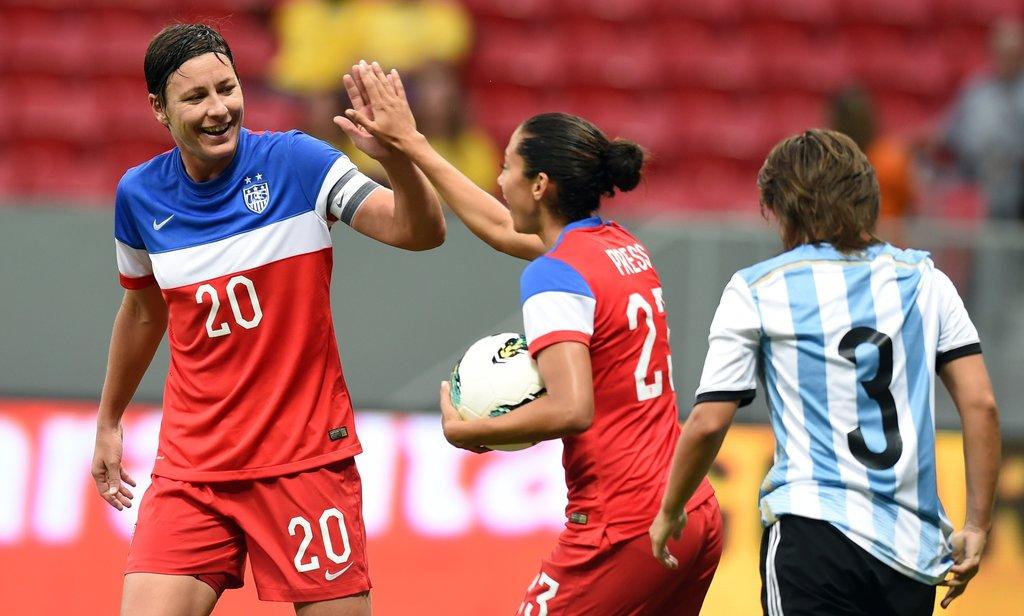 Torneo Internacional Brasilia 2014 - Estados Unidos 7 - Argentina 0.