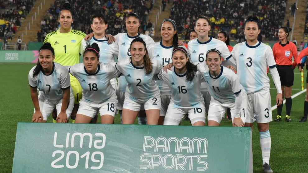 Seleccion Argentina Femenina - Final Juegos Sudamericanos Lima 2019.