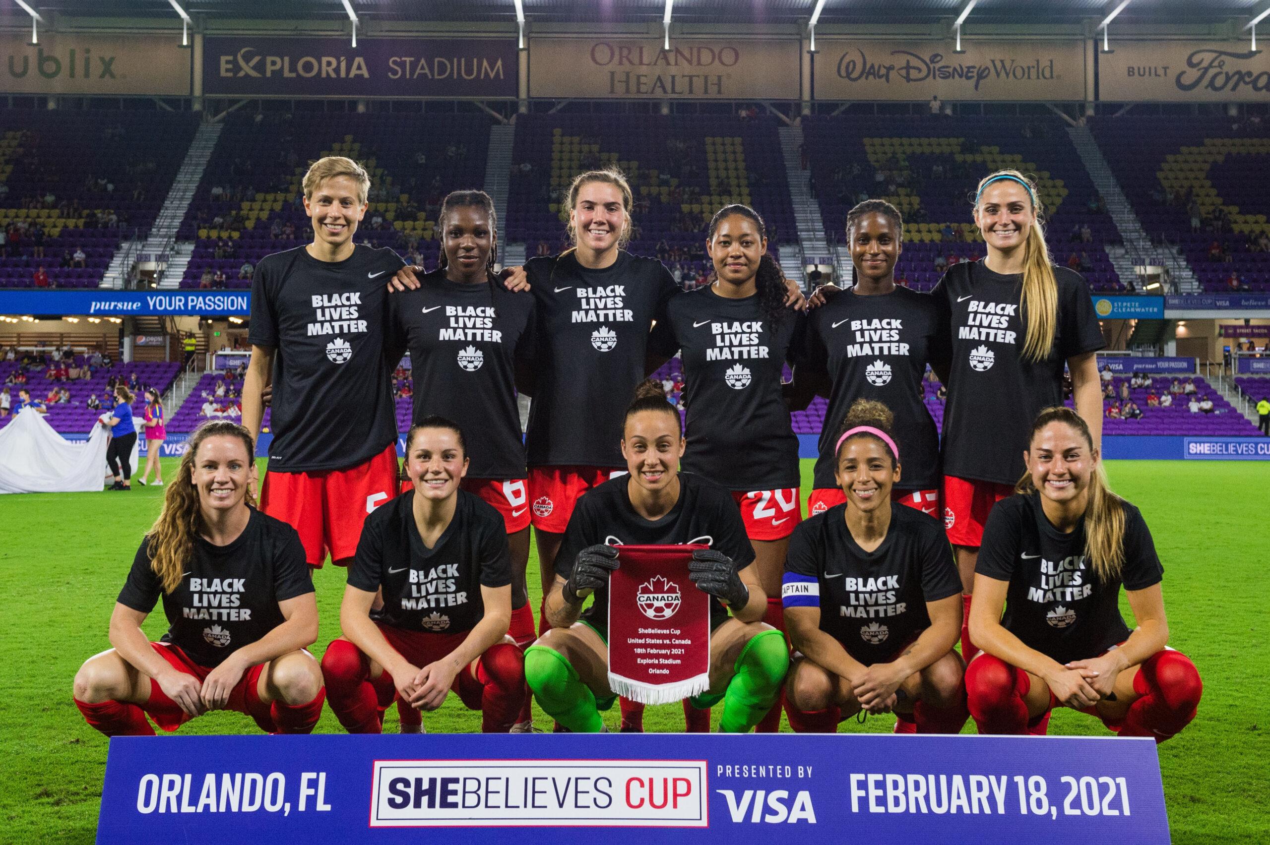 Foto plantel - Selección Femenina de Canadá