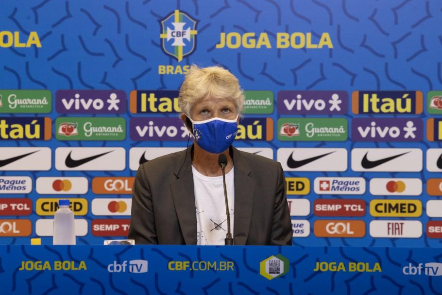 Pia Sundhage - Entrenadora Brasil Femenino