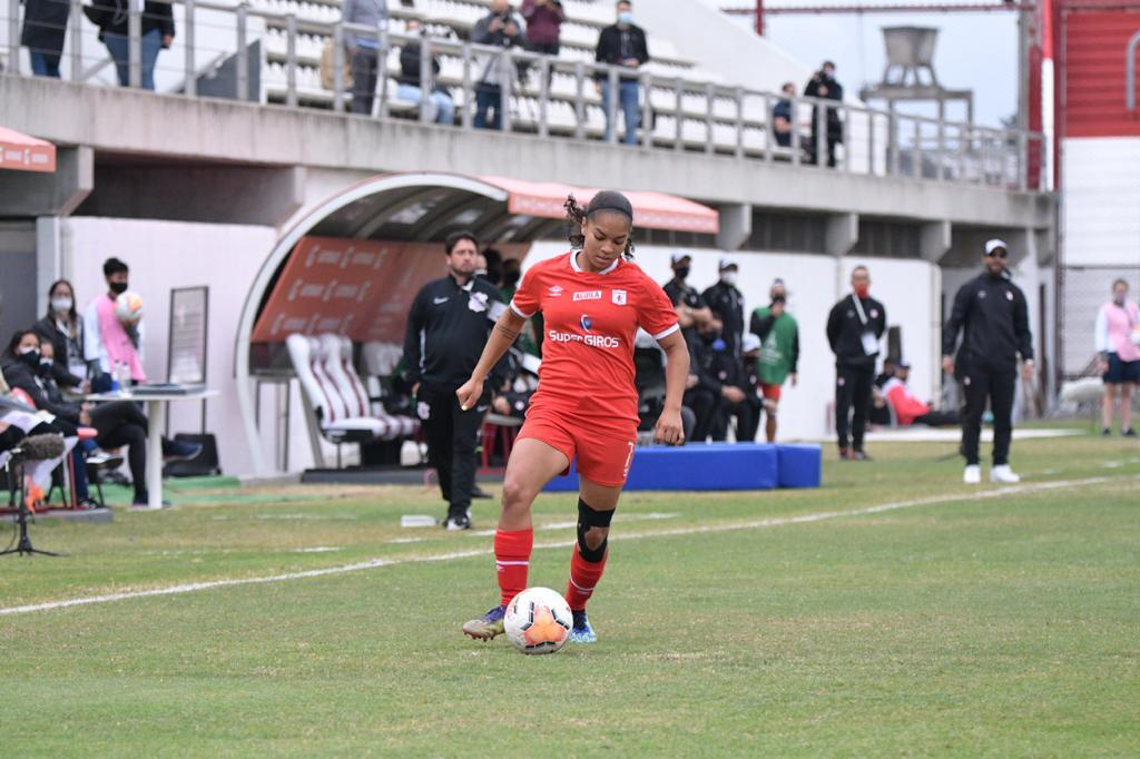 Copa Libertadores Femenina 2020: América de Cali 1 (4)- Corinthians 1 (2).