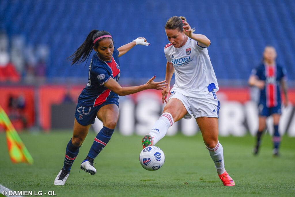 Champions League Femenina: el partido de vuelta entre el OL y el PSG fue suspendido por casos positivos en la plantilla de Lyon.