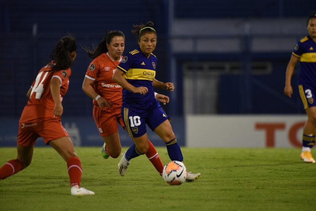 Copa Libertadores Femenina 2020: Boca Juniors 1 - América de Cali 2.