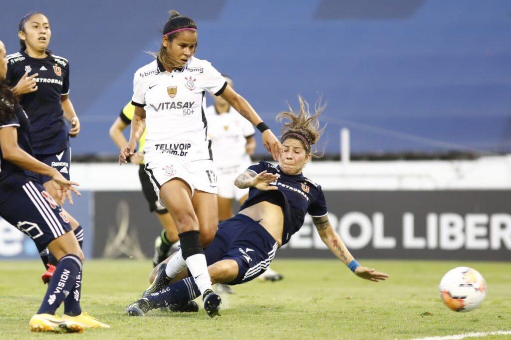 El Corinthians vencio 4 a 0 a la Universidad de Chile y se quedo con el tercer puesto de la Copa Libertadores Femenina 2020.