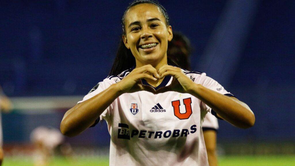 Yael Oviedo lleva convertido tres tantos en la presente edición de la Copa Libertadores Femenina.