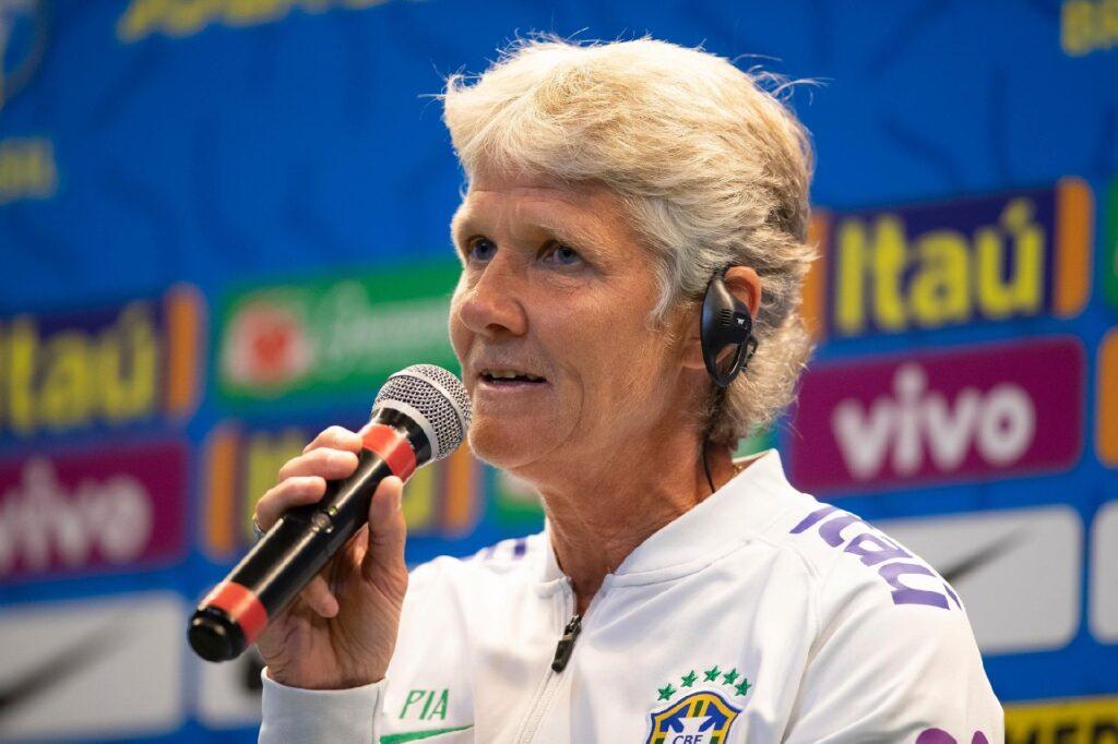 Pia Sundhage, entrenadora del seleccionado femenino de Brasil.