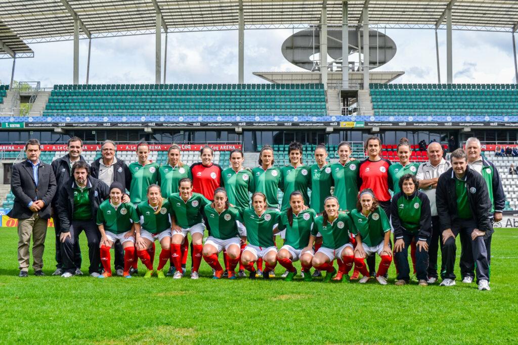 Selección Femenina de fútbol del País Vasco.