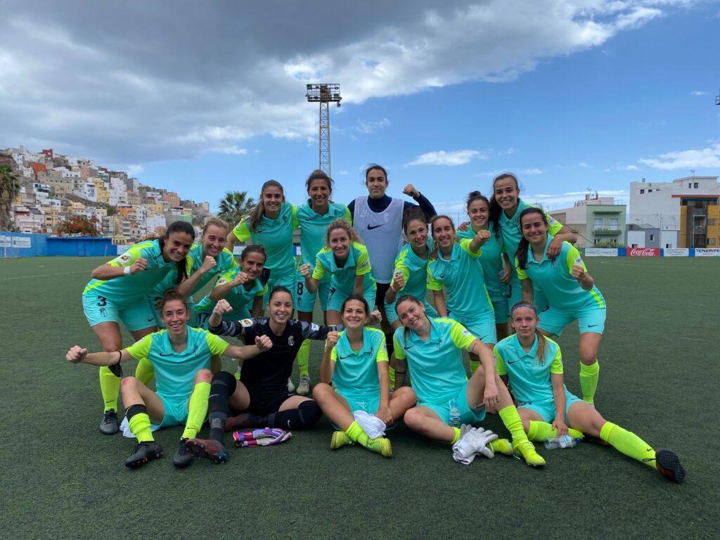 El Granada CF de Mili Menéndez (titular) visitó al Tacuense y se quedó con un triunfo de 1-3