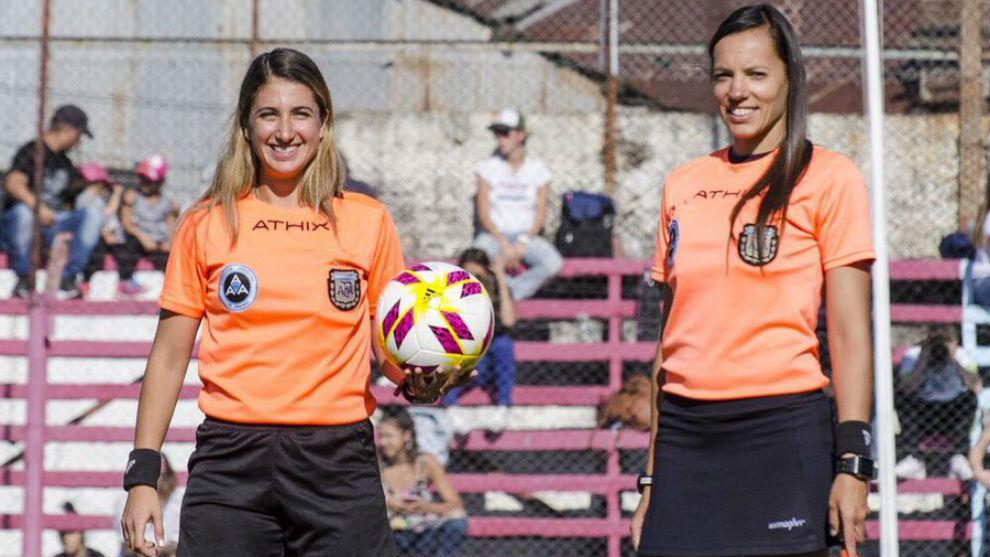 Laura Fortunato y Mariana de Almeida, las juezas argentinas que impartirán justicia en los Juegos Olímpicos de Tokio 2020.
