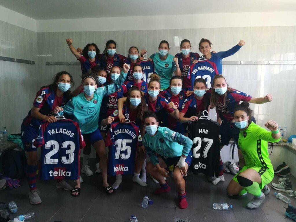 Con Aldana Cometti y Estefanía Banini como titulares, el Levante venció 2-0 al Tenerife