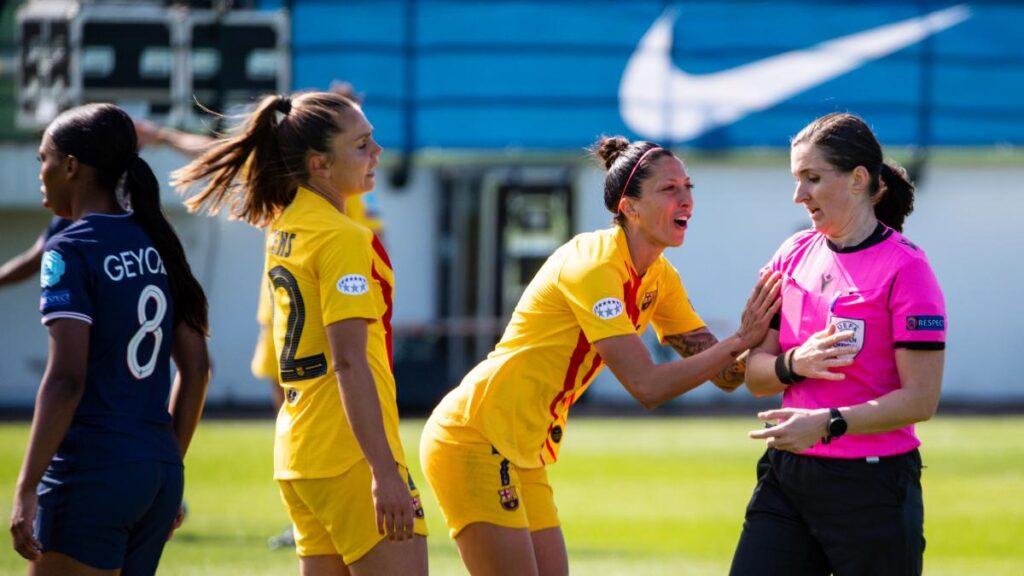 El encuentro entre el PSG y el Barcelona estuvo repleto de polémicas arbitrales. ¿Se incorporará el VAR al fútbol femenino?