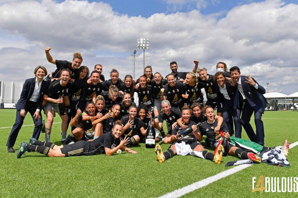 Con Dalila Ippolito en la plantilla, la Juventus se consagró campeona de la Serie A Femenina.