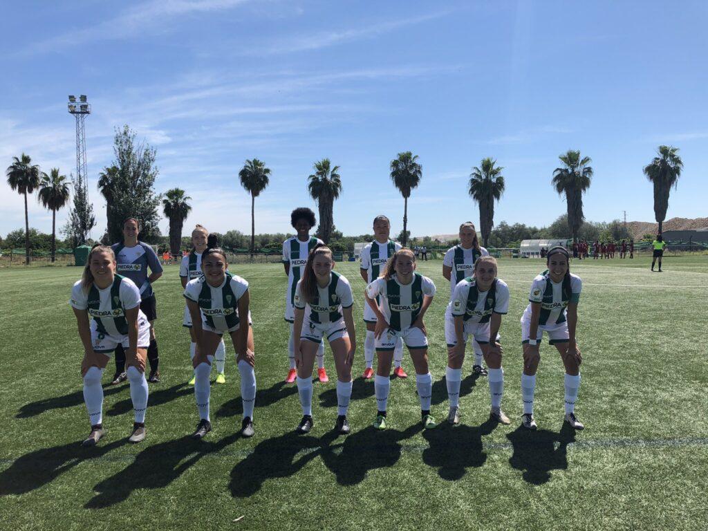 Con Karen Vénica (titular), Belén Potassa (suplente, no ingresó) y Sofía Schell (ausente), el Córdoba ganó 1-0 contra el Aldaia