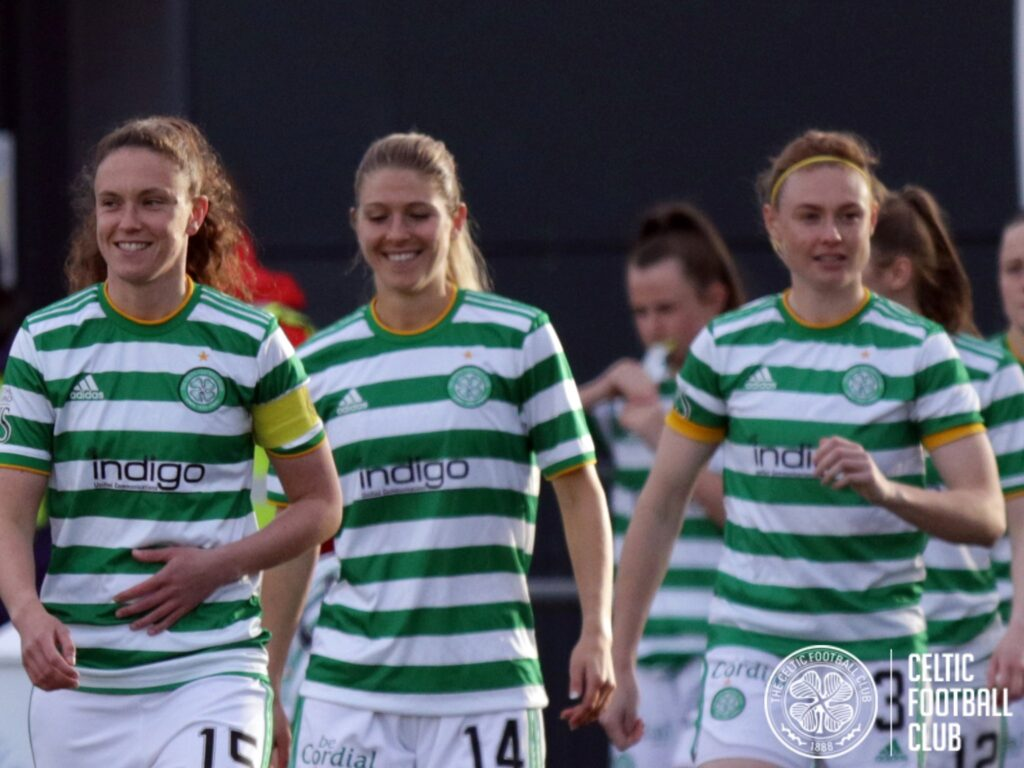 El Celtic Football Club Women goleó por 3-0 -en condición de visitante- a Hearts.
