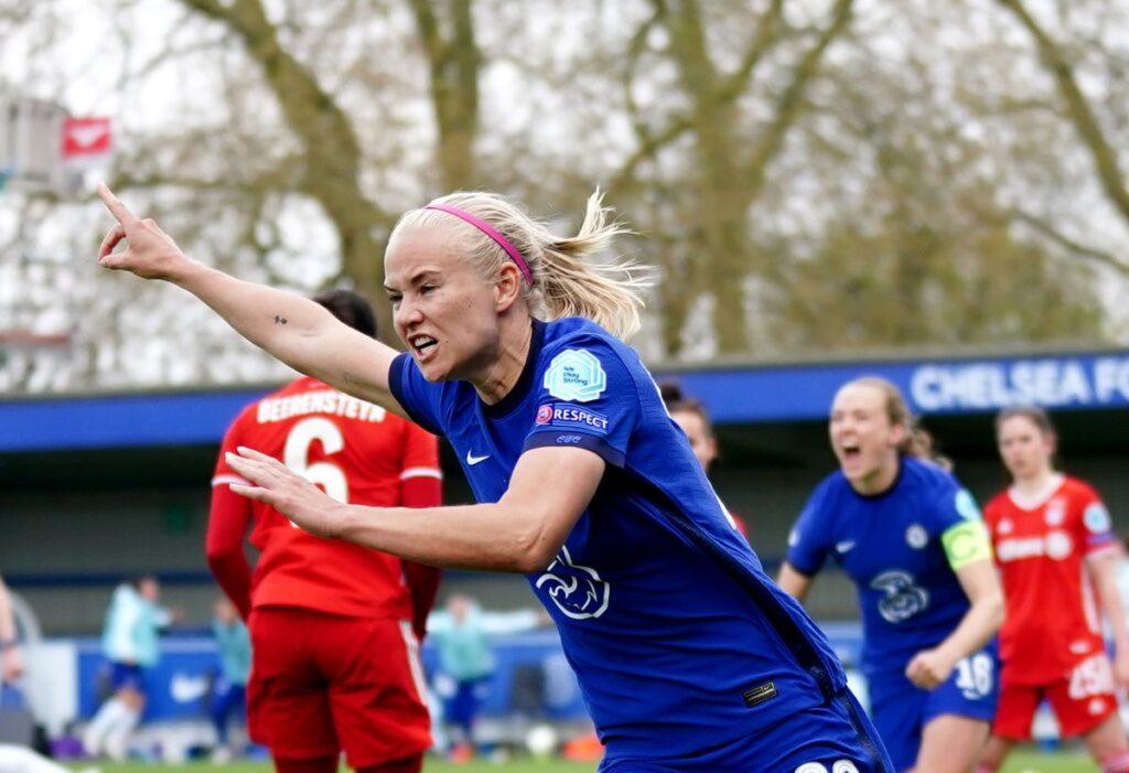 Champions League Femenina: el Chelsea venció al Bayern Munich por 4 a 1 y clasificó a su primera final continental.