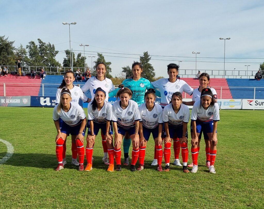 San Lorenzo venció 1-0 al SAT con gol de Débora Molina.