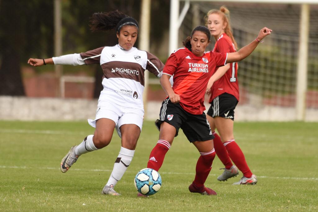 Torneo Apertura Femenino 2021 - Zona B - River superó 6-0 a Platense y mantiene su récord perfecto