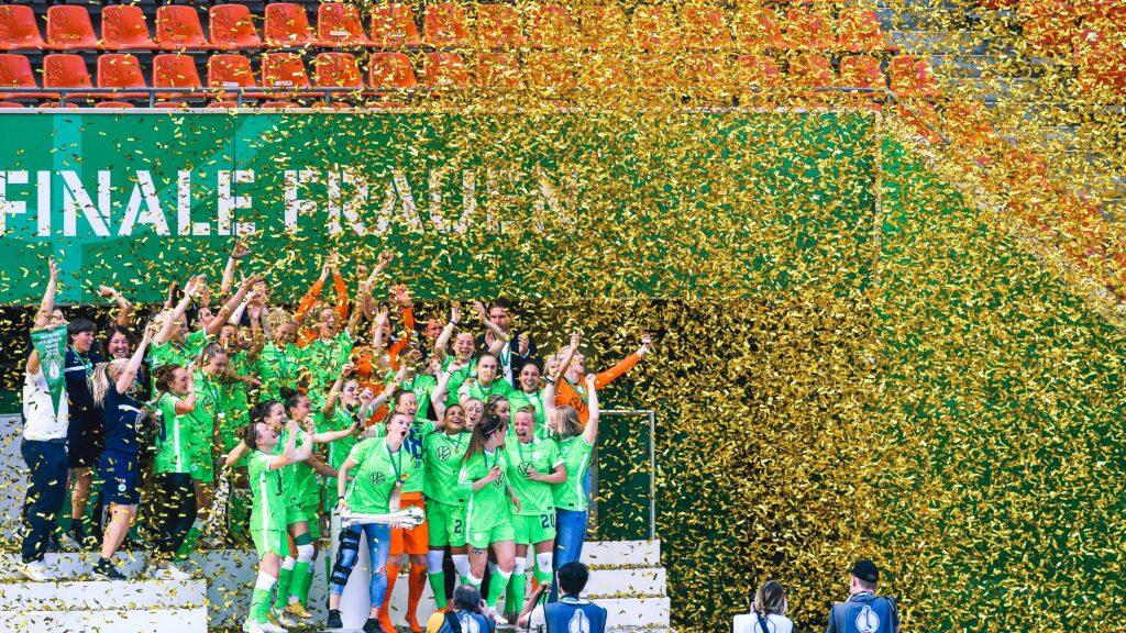 El Wolfsburgo ganó su séptima Copa de Alemania al hilo al vencer 1-0 al Eintracht Frankfurt.