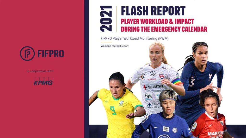 FIFPro publicó informe sobre los efectos de la pandemia en el fútbol femenino.