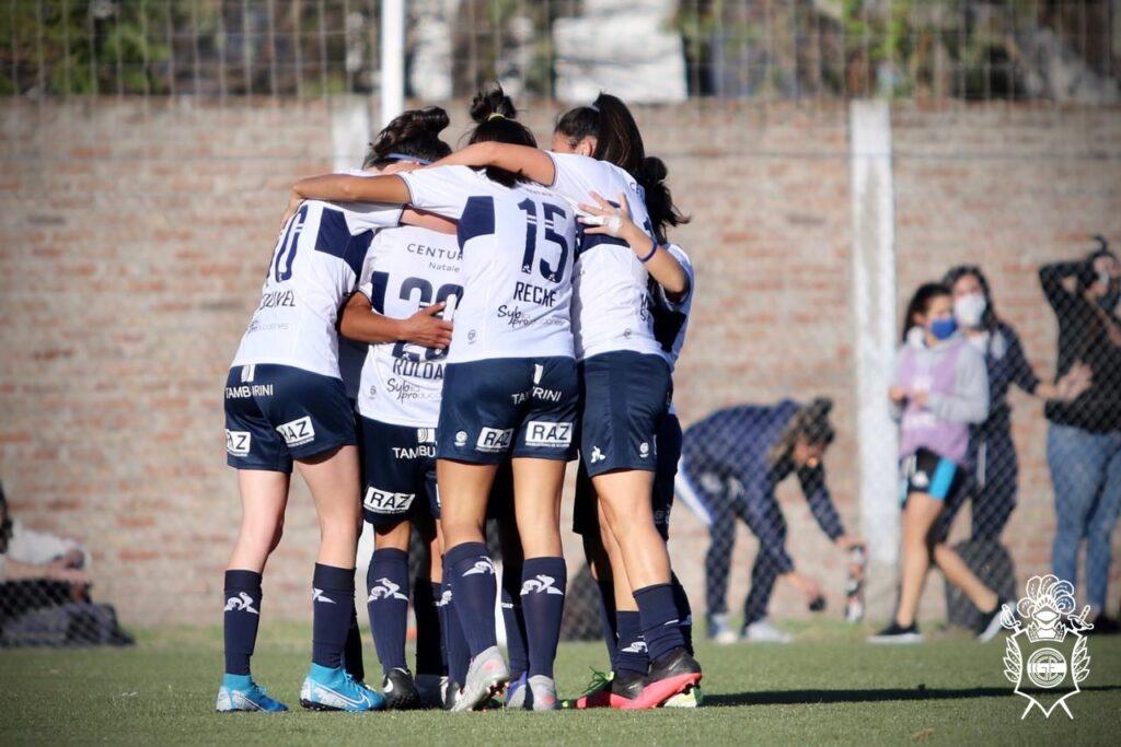 Gimnasia La Plata goleó 3-1 a Racing en el Apertura Femenino 2021.