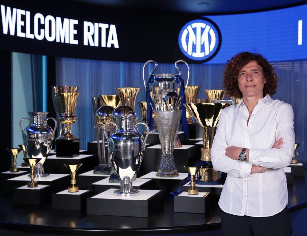 Rita Guarino es la nueva entrenadora del Inter Femenino.