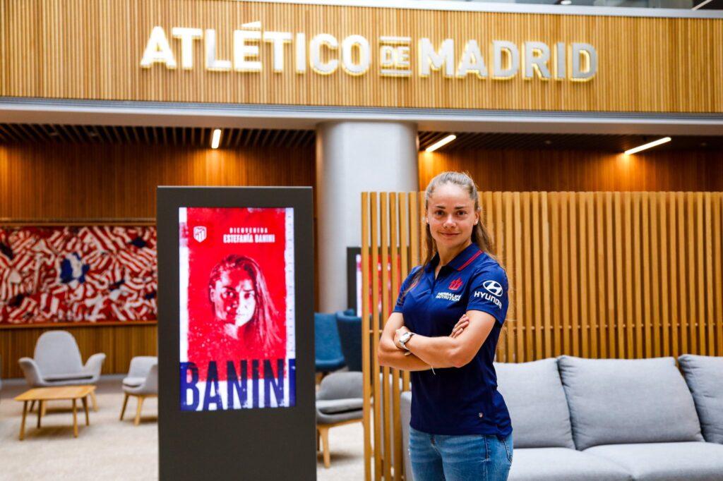 Estefanía Banini, refuerzo del Atlético Madrid
