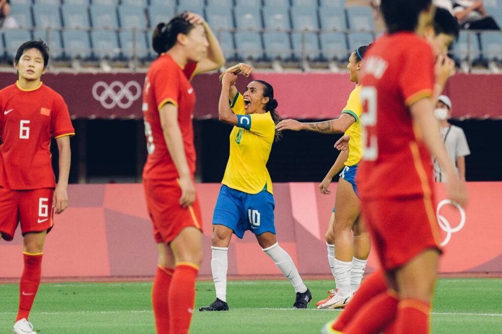 Tokio 2020 - Brasil 5 - China 0
