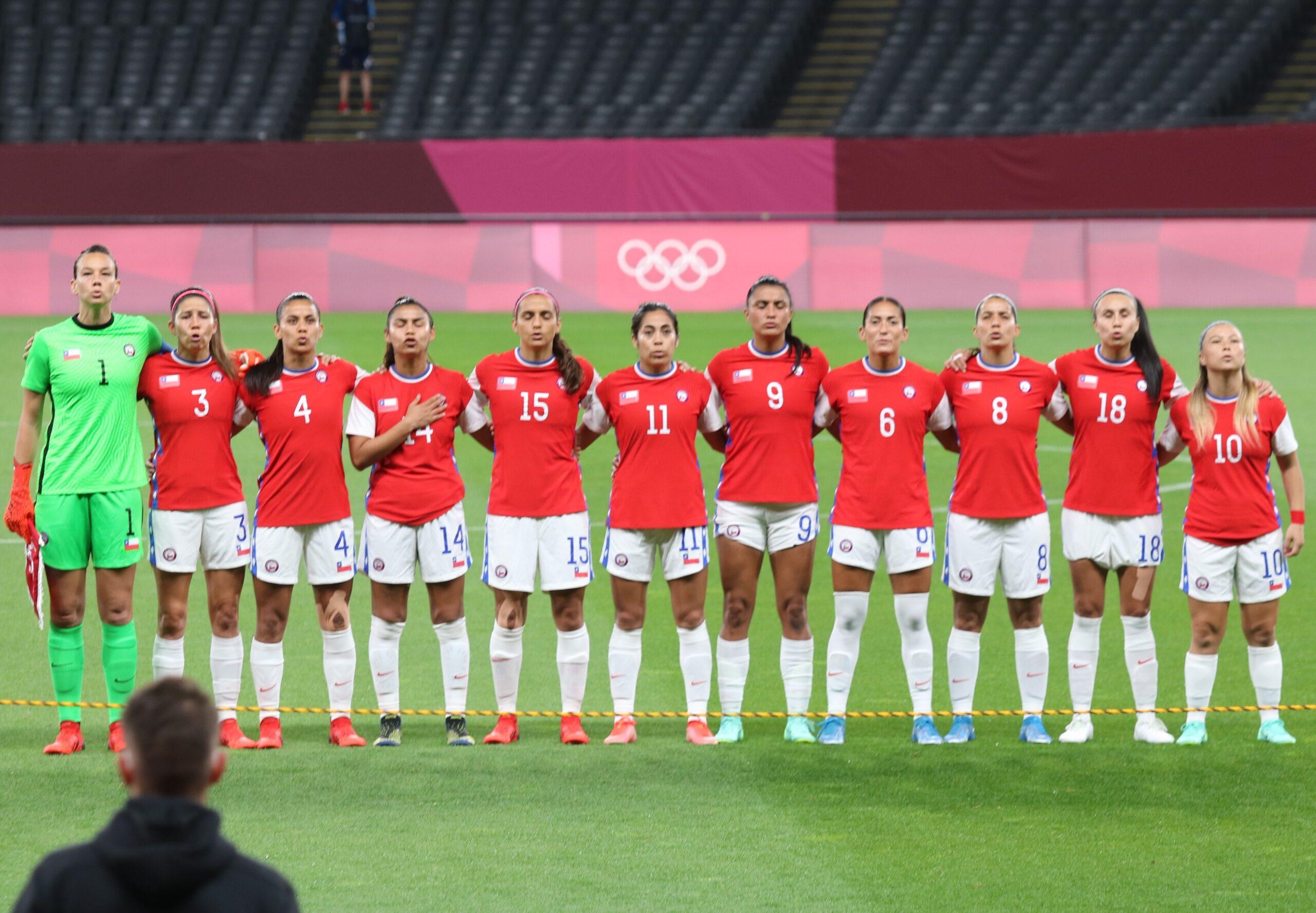 Tokio 2020 - Fútbol Femenino - Chile 0 - Reino Unido 2