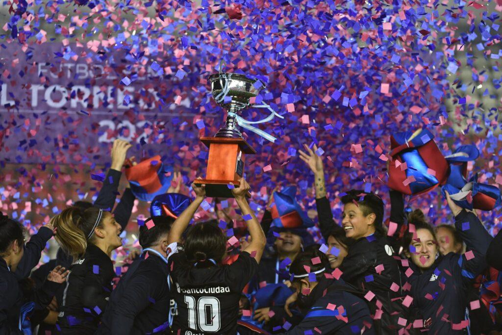 San Lorenzo campeón Primera A Femenina