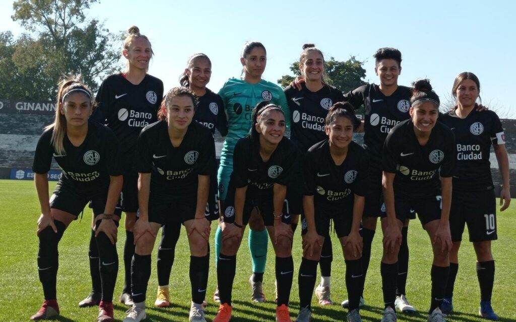 San Lorenzo, finalista Torneo Apertura Femenino 2021.
