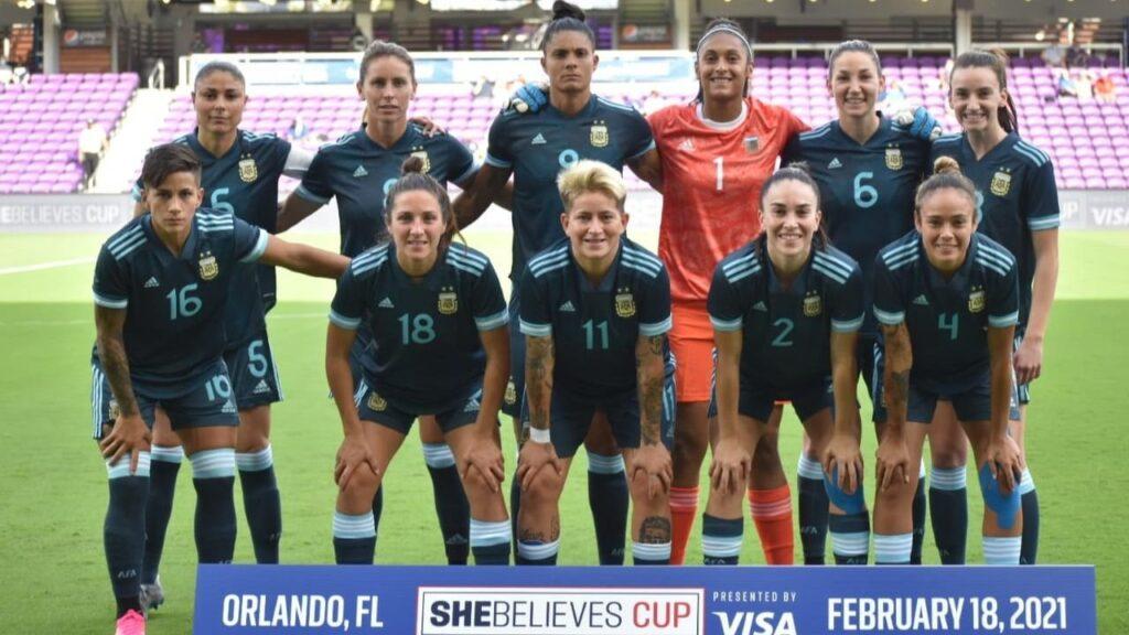 Selección Femenina Argentina
