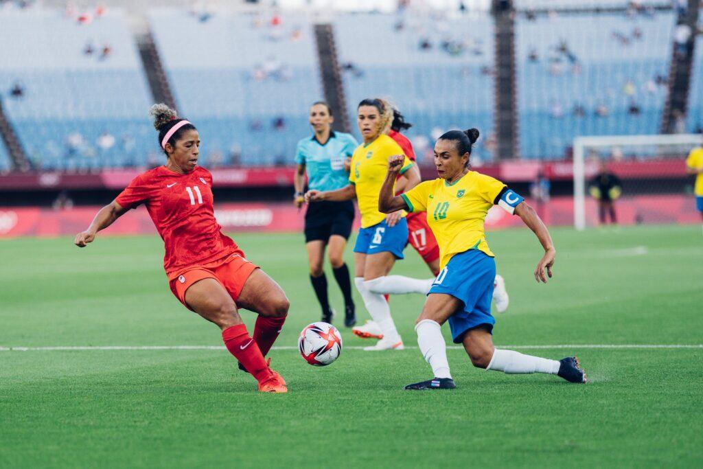 Juegos Olímpicos Tokio 2020 - Fútbol Femenino - Brasil Canadá
