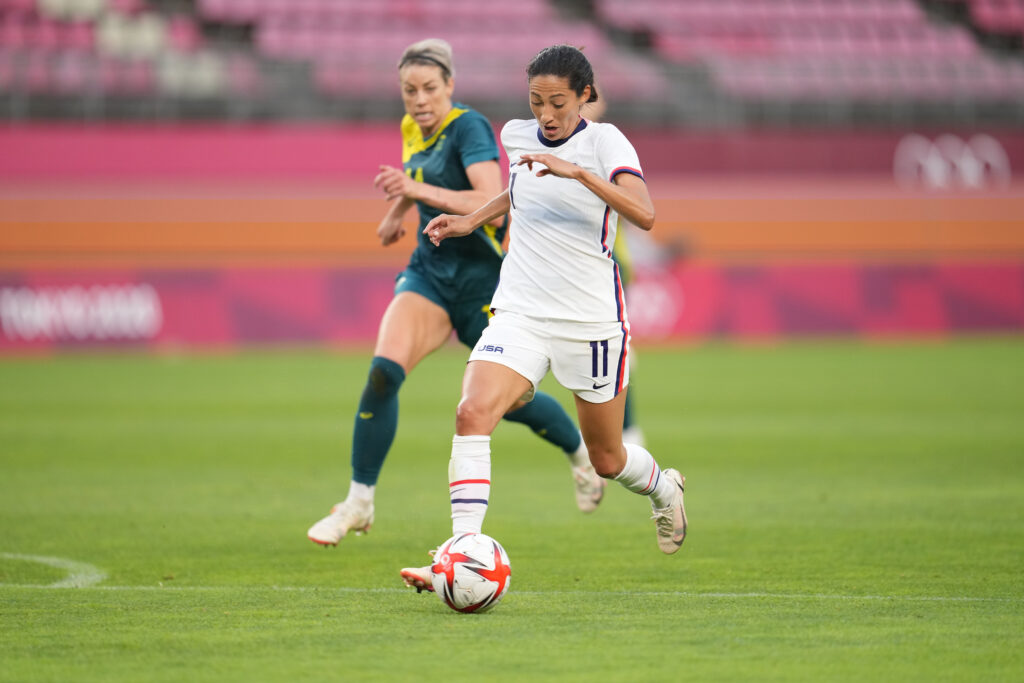 Tokio 2020 - Fútbol Femenino - Estados Unidos 0 Australia 0