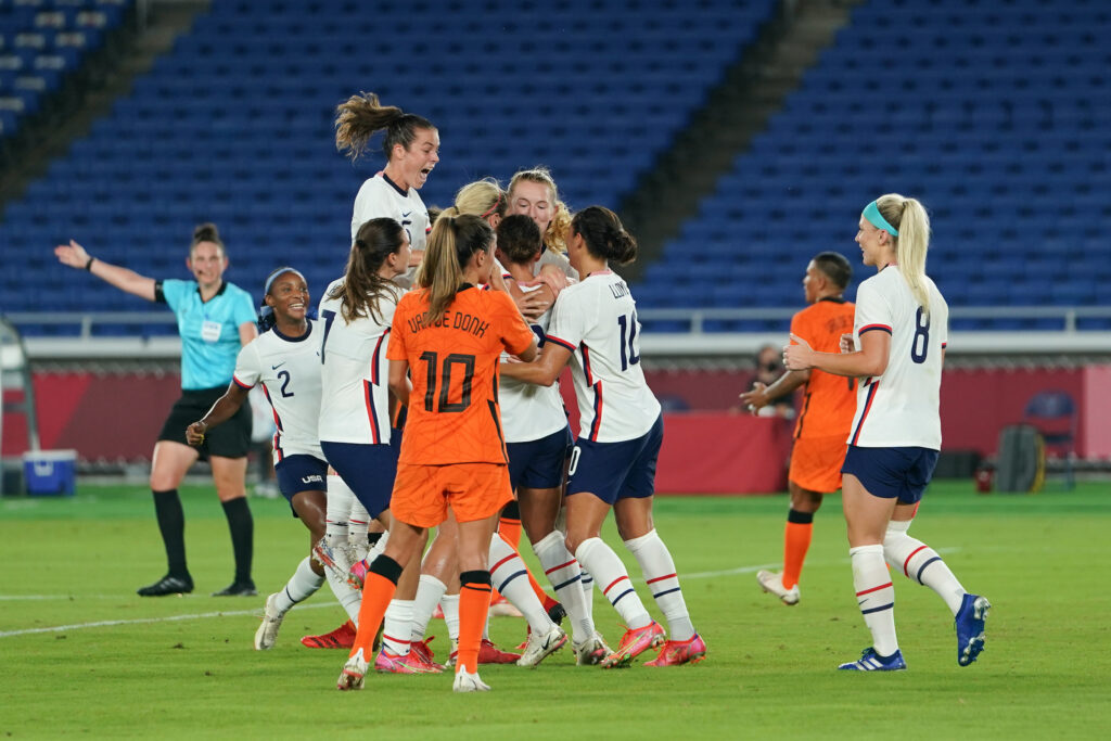 Juegos Olímpicos 2020 - Fútbol Femenino - Estados Unidos Países Bajos