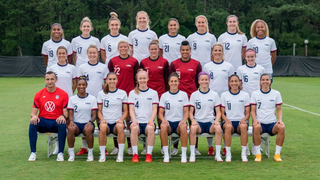 Tokio 2020 Fútbol Femenino - Estados Unidos