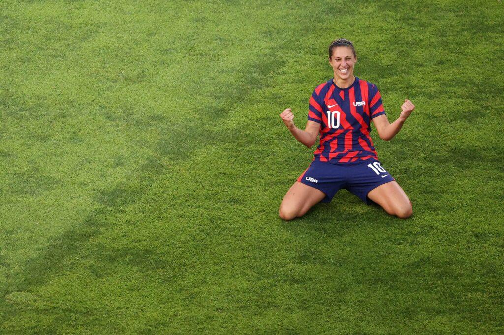 Juegos Olímpicos - Fútbol Femenino - Estados Unidos 4 Australia 3
