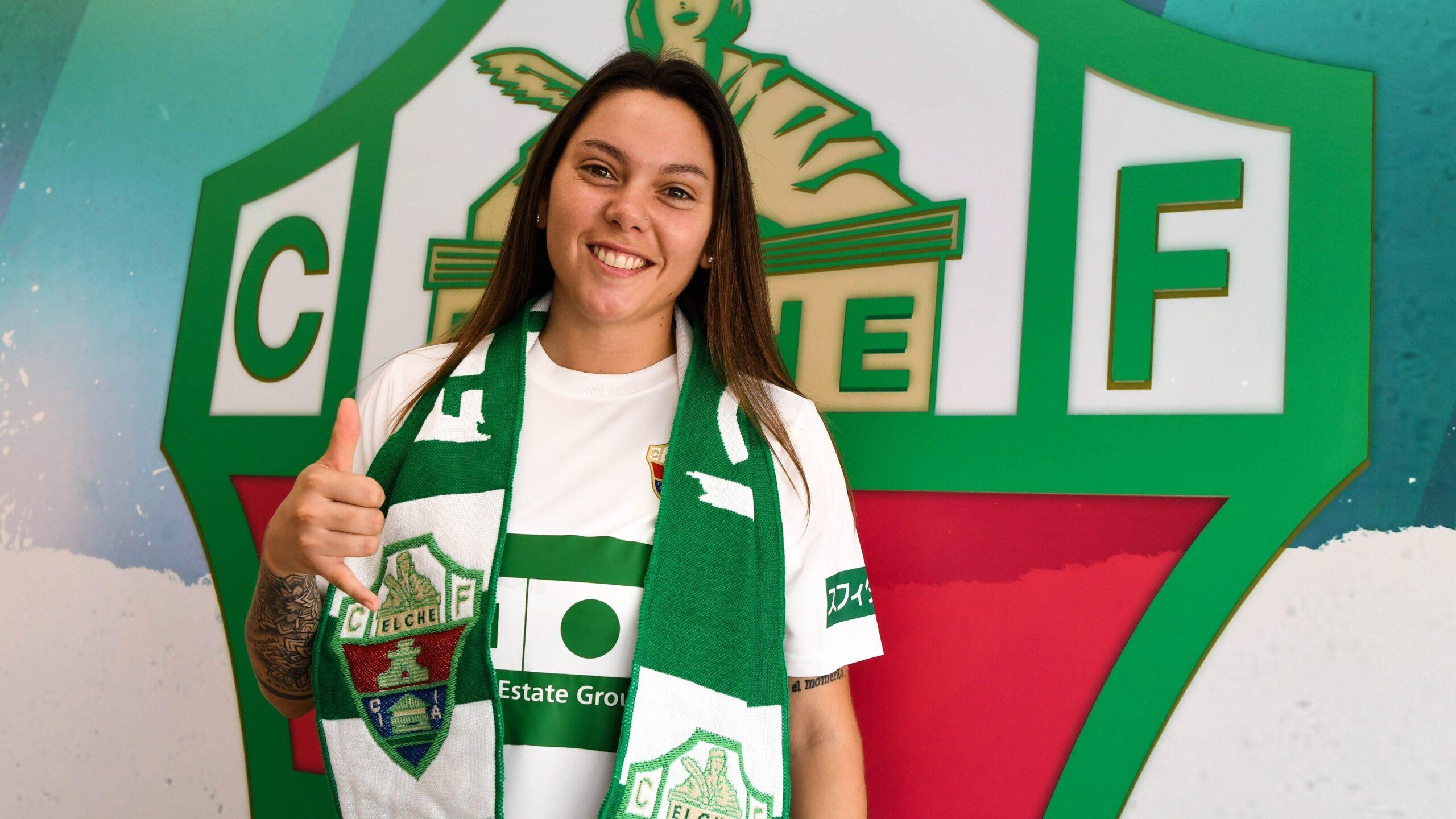 Milagros Menéndez, nueva jugadora del Elche