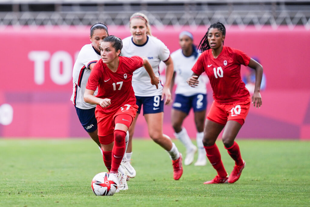 Tokio 2020 - Fútbol Femenino - Canadá Estados Unidos