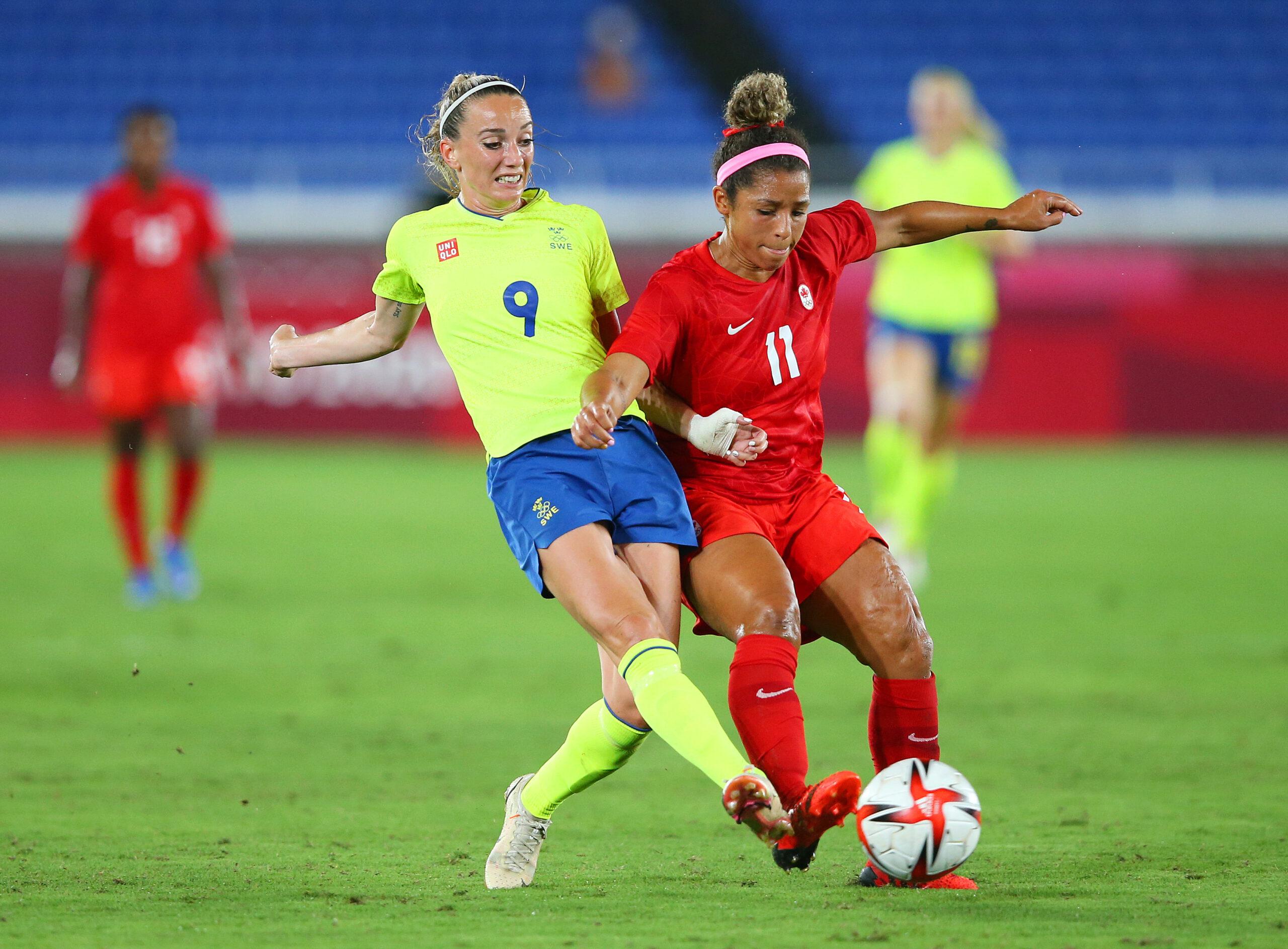 Juegos Olímpicos - Fútbol Femenino -Suecia Canadá